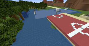 Campo de futbol inundado copia